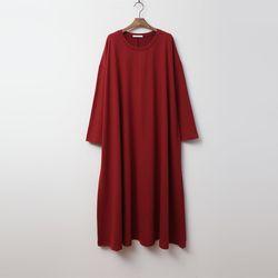 N Cotton Swing Long Dress