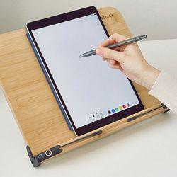 밤부 태블릿 아이패드받침대 노트북스탠드 중형