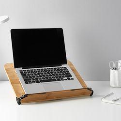 밤부 태블릿 아이패드받침대 노트북스탠드 대형