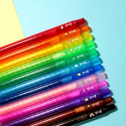 잘 써지는 비비드 네임 색연필