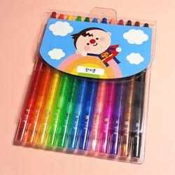 잘 그려지는 12색 네임 색연필