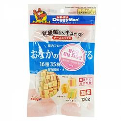 도기맨 장에 좋은 유산균 큐브120g(치즈)