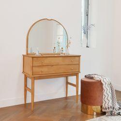 마루이 마브로 러버트리원목 콘솔 화장대+거울 세트(착불)