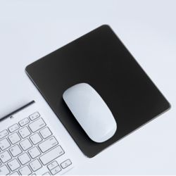 디자인 알루미늄 마우스패드(24x20cm) (블랙)