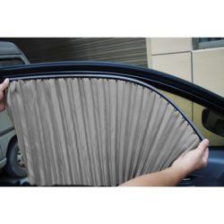 자석 카커튼 차량용 햇빛가리개 4p세트(실버)
