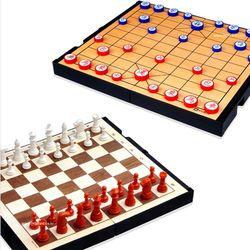 명인랜드 체스 장기 세트 소형 양면 M 159 MJ150
