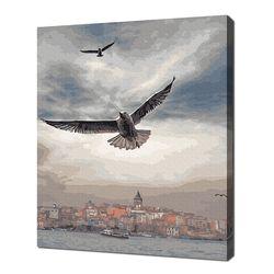 [명화그리기]4050 베네치아 하늘 27색 풍경화