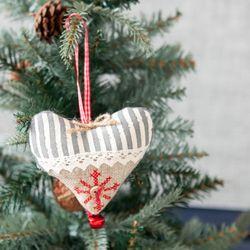 노블하트 10.5cm 크리스마스 트리 장식 소품 TRBALC