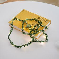 LED 나뭇잎 트리 줄기 스트링 파티 인테리어 조명