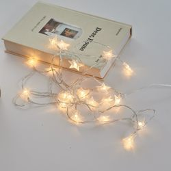 LED 별 스트링 파티 인테리어 조명