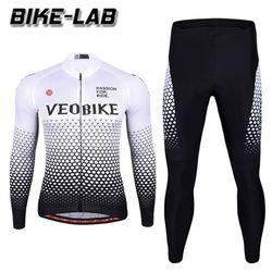 [BIKELAB]자전거의류 프로라인 긴팔상하세트 VL19-01