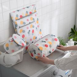 세탁망 의류 세탁기망 컬러패턴 메쉬 빨래망 6종 1set