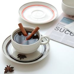 [KANESUZE] 카네수즈 커피잔세트 일본 185ml (4color)