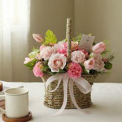 프린세스 비누카네이션꽃바구니
