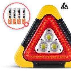 세이프 X 엑스 차량용 LED 안전삼각대 대형 BIGSIZE 비상경고등