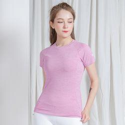 DURAN 클래식 반팔 티셔츠 DYW-TS5044 핑크