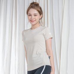 DURAN 클래식 반팔 티셔츠 DYW-TS5044 오트밀