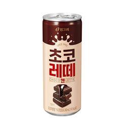 [무료배송] 초코레떼 250ml 캔 60 개입