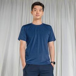 DURAN 올시즌 스트레치 맨 티셔츠 DTM0S-3007 블루