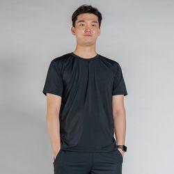 DURAN 올시즌 스트레치 맨 티셔츠 DTM0S-3007 블랙