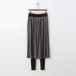 N Pleats Skirt Leggings