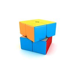 슈퍼 파스텔 매직큐브 2X2 퍼즐놀이 열쇠고리