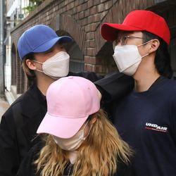 NPF 얼굴작아보이는 무지 볼캡 모자