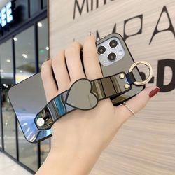 아이폰6플러스 하트 심플 미러 커버 하드 케이스 P549
