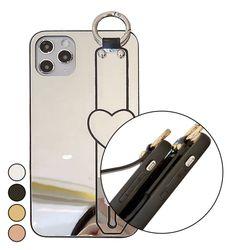 아이폰6S플러스 하트 심플 미러 하드 케이스 P549