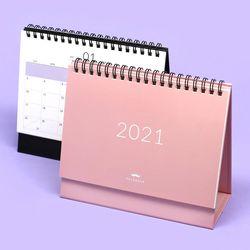 4000 봉주르 2021 탁상 캘린더 (랜덤발송)