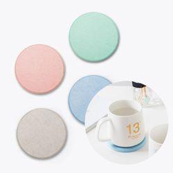 인블룸 규조토 컵받침 코스터