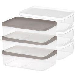냉장고 소분 정리 수납 플라스틱 밀폐 용기 7호 (3개입)