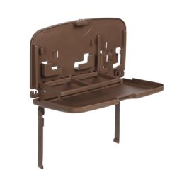 원스카 접이식 차량 테이블(브라운)