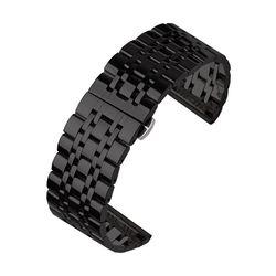피닉스 시계줄 G676 디버클 메탈밴드(블랙22mm)