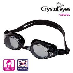 크리스탈아이즈  수경 CE800 BK