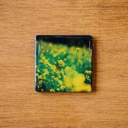 제주 놀멍쉬멍 마그넷 - 유채꽃밭
