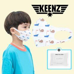 킨즈 헬사클린 항균 마스크 필터교체형 세척마스크+3레이어 필터