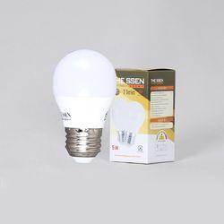 LED벌브 더쎈 인지구 G45 5W 3000K 노란빛
