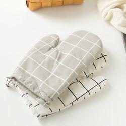 모던 오븐장갑 주방장갑 2개set 냄비 요리 장갑