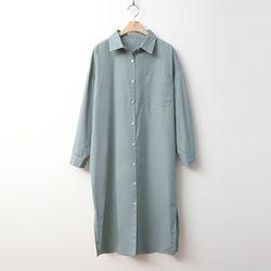 Automne Long Shirts Dress