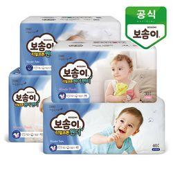 보솜이 리얼코튼 원더 밴드 팬티 기저귀 4팩