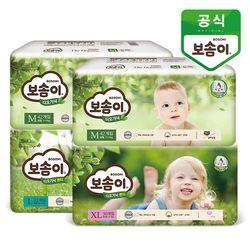 보솜이 디오가닉 밴드 팬티 기저귀 4팩