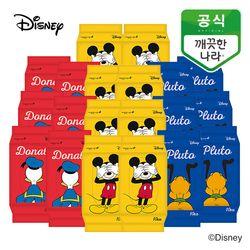 깨끗한나라 디즈니 프렌즈 물티슈 휴대용 10매 20팩