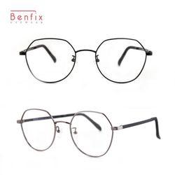 벤픽스 가벼운 울템다리 다각 안경테 3014