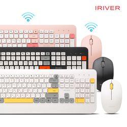 [아이리버]IRIVER 무선 키보드&마우스 세트 EQwear-V1000