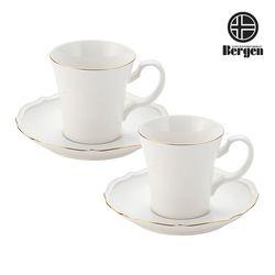 베르겐 골드블랑 커피잔 2조 선물세트