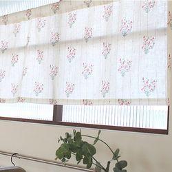 샤론 꽃다발 바란스커튼 미니커튼 (3colors)