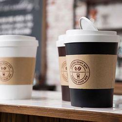 커피컵 디자인 휴지통 다용도 인테리어 미니 수납함