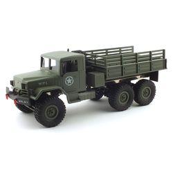1:16 6x6 군용 육공트럭 비례제어조절 가능 RC
