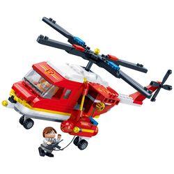 [반바오] BO7128 소방 헬리콥터